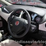 Fiat Linea facelift dashboard at Auto Expo 2014