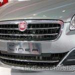 Fiat Linea facelift front fascia at Auto Expo 2014