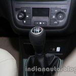 Fiat Linea facelift gear knob at Auto Expo 2014