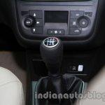 Fiat Linea facelift gear knob at Auto Expo 2014