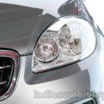 Fiat Linea facelift headlamp at Auto Expo 2014