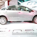 Fiat Linea facelift profile at Auto Expo 2014
