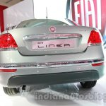 Fiat Linea facelift rear at Auto Expo 2014