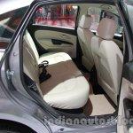 Fiat Linea facelift rear seat at Auto Expo 2014