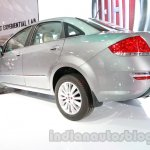 Fiat Linea facelift rear three quarters left at Auto Expo 2014