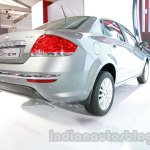 Fiat Linea facelift rear three quarters right at Auto Expo 2014