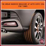 Fiat Punto Avventure teased India