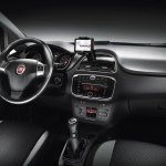 Fiat Punto facelift dashboard press image 2012