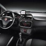 Fiat Punto facelift dashboard press image 2012