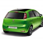 Fiat Punto facelift rear press image 2012
