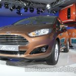 Ford Fiesta Facelift at Auto Expo 2014 front quarter