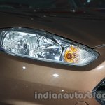 Ford Fiesta Facelift at Auto Expo 2014 headlight