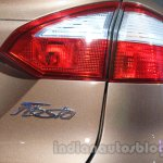 Ford Fiesta Facelift at Auto Expo 2014 taillight