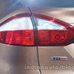 Ford Fiesta Facelift at Auto Expo 2014 taillights