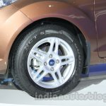 Ford Fiesta Facelift at Auto Expo 2014 wheel