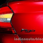 Ford Figo Concept Sedan Launch Images badge