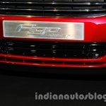 Ford Figo Concept Sedan Launch Images front number plate