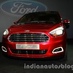 Ford Figo Concept Sedan Launch Images front quarter