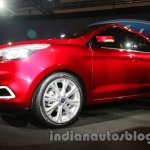 Ford Figo Concept Sedan Launch Images front three quarter 3
