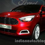 Ford Figo Concept Sedan Launch Images front three quarter