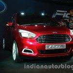 Ford Figo Concept Sedan Launch Images front