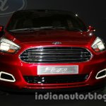 Ford Figo Concept Sedan Launch Images grille