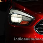 Ford Figo Concept Sedan Launch Images headlight