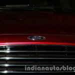 Ford Figo Concept Sedan Launch Images logo grille