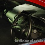Ford Figo Concept Sedan Launch Images steering 2