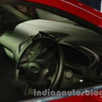 Ford Figo Concept Sedan Launch Images steering