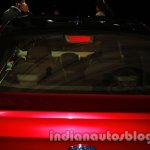 Ford Figo Concept Sedan Launch Images stoplight