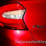 Ford Figo Concept Sedan Launch Images taillight