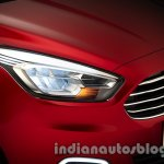 Ford Figo Concept press shot headlight