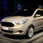 Ford Ka Concept Sedan Brazil press shots front quarter
