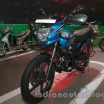 Hero Passion Pro TR at Auto Expo 2014 front quarter