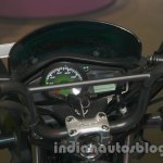Hero Passion Pro TR at Auto Expo 2014 handle