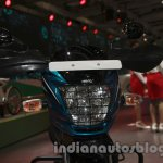 Hero Passion Pro TR at Auto Expo 2014 headlight