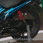 Hero Passion Pro TR at Auto Expo 2014 rear wheel