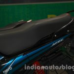 Hero Passion Pro TR at Auto Expo 2014 seat