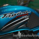 Hero Passion Pro TR at Auto Expo 2014 tank design