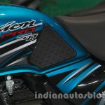 Hero Passion Pro TR at Auto Expo 2014 tank
