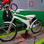 Hero SimplEcity at Auto Expo front quarter