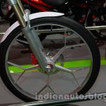 Hero SimplEcity at Auto Expo front wheel