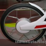 Hero SimplEcity at Auto Expo rear wheel