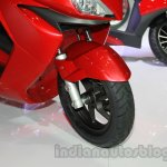 Hero ZIR front wheel and suspension