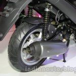 Hero ZIR rear wheel and suspension