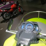Hero iON Auto Expo 2014 instrument cluster