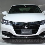 Honda Accord Hybrid front at Auto Expo 2014