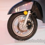 Honda Activa 125 front disc brake at Auto Expo 2014