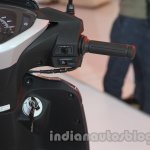 Honda Activa 125 handlebar right at Auto Expo 2014